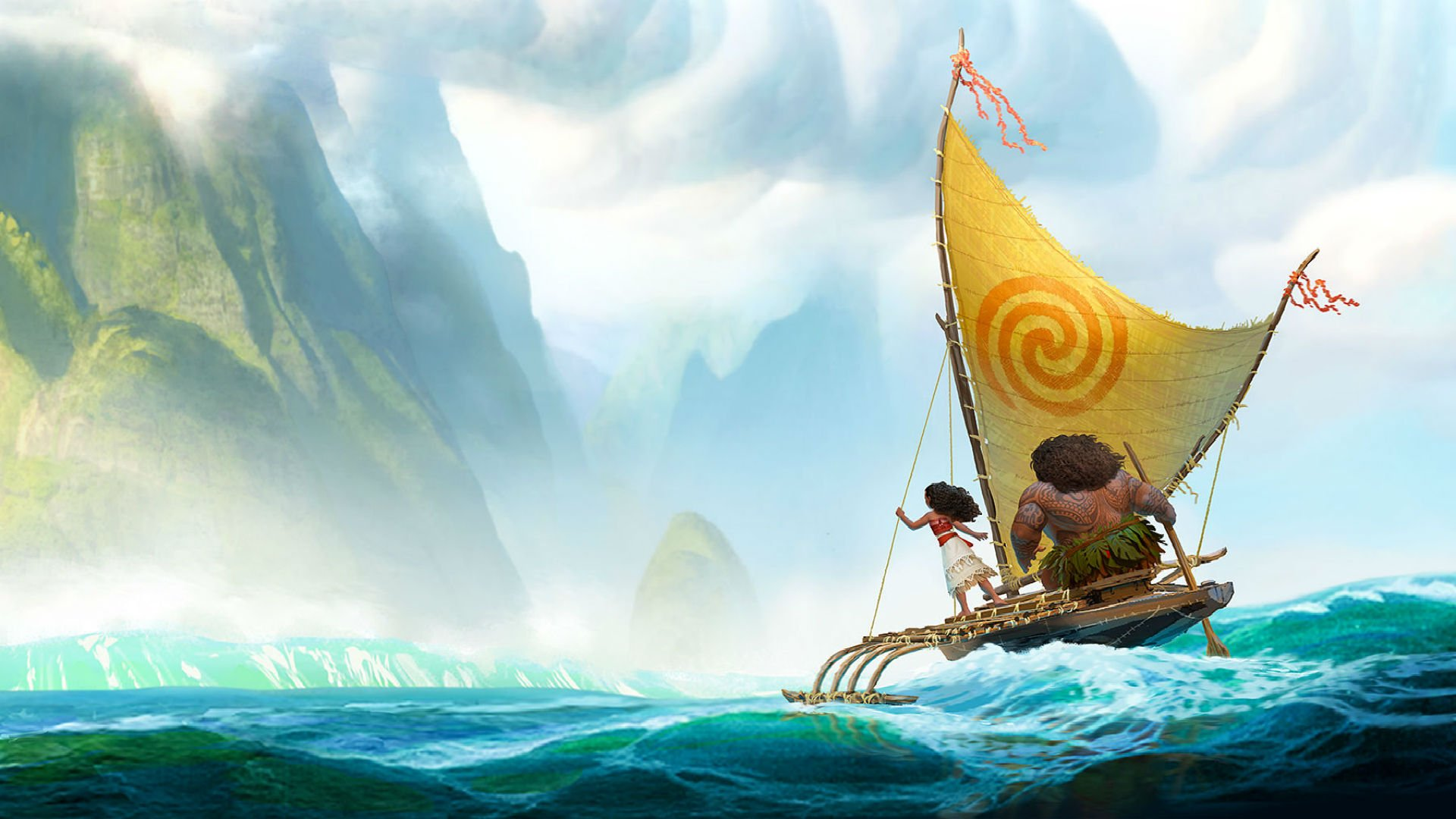 Moana disney princess fantasy animation adventure musical family 1moana 1920x1080