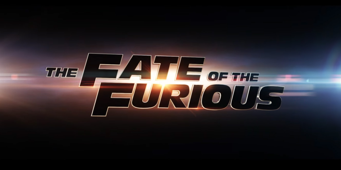 The fate of the furious title change logo