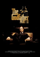 W130 the godfather part 2 al pacino poster