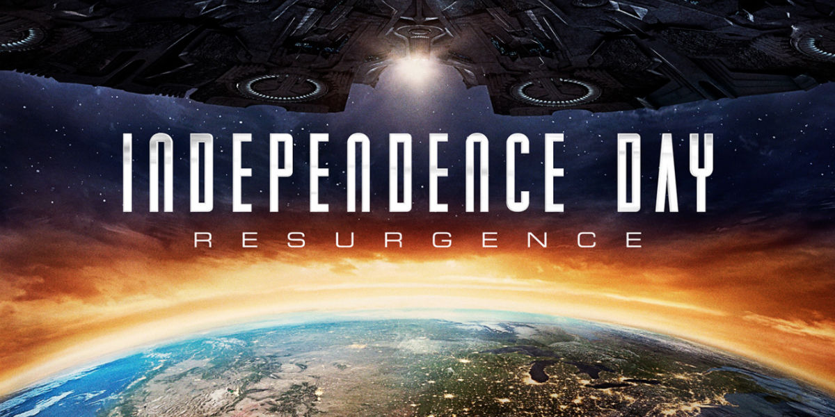 Independence day 2 resurgence movie poster