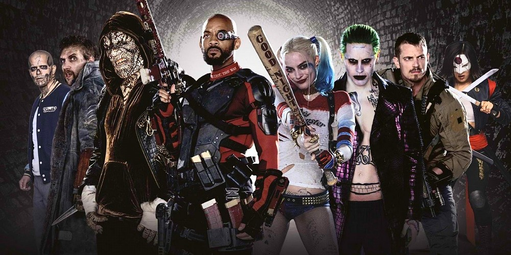 Suicide squad movie set visit
